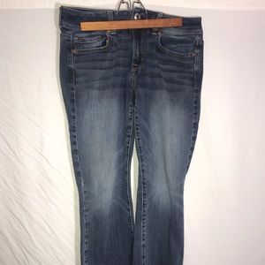 American Eagle Outfitters Jean kick boot Size 8